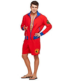 Adult Men's Baywatch Costume - Baywatch