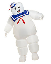 Adult Inflatable Stay Puft Costume - Ghostbusters Classic
