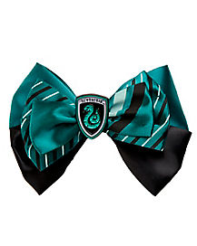 Slytherin Hair Bow - Harry Potter