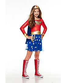 Kids Wonder Woman Dress Costume - DC Comics