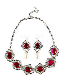 Saloon Western Jewelry Set