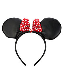 Faux Leather Minnie Headband - Disney