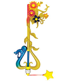 Kairi Destiny's Embrace Keyblade - Disney Kingdom Hearts
