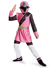 Kids Pink Ranger Costume - Power Rangers Ninja Steel