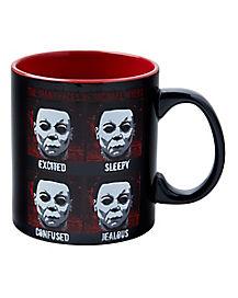 Halloween Myers Emotions Mug - 20 oz.