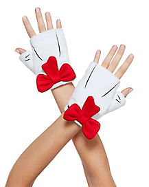 Fingerless Cat in the Hat Gloves - Dr. Seuss