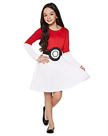 Kids Pokeball Dress - Pokemon