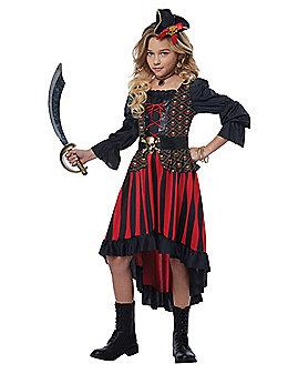 Kids Buccaneer Beauty Costume