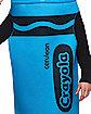 Adult Cerulean Blue Crayon Costume - Crayola