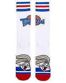 Space Jam Crew Socks