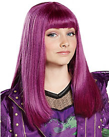 Kids Mal Wig - Descendants