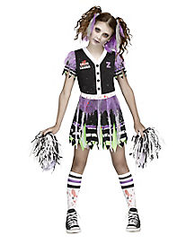 Kids Zombie Fear Leader Costume