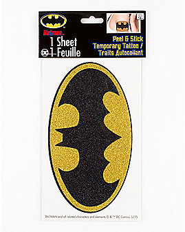 Batman Body Tattoo - DC Comics
