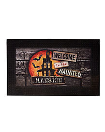 Welcome to the Haunted Mansion Doormat