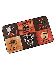 Halloween Fright LED Doormat