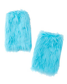 Kids Faux Fur Thing Leg Warmers - Dr. Seuss