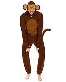 Adult Monkey Pajama Costume