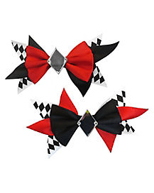 Kids Jester Hair Bows