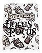 It's Just A Bunch of Hocus Pocus Fleece Blanket - Hocus Pocus