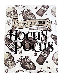 It's Just A Bunch of Hocus Pocus Fleece Blanket - Hocus Pocus