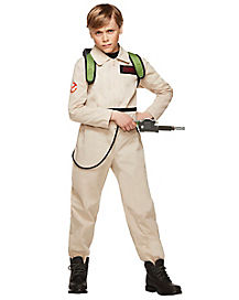 Kids Ghostbusters Boys One Piece Costume - Ghostbusters Classic