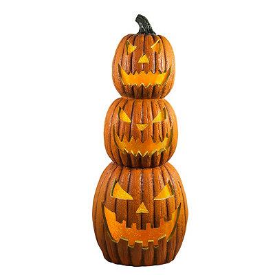 1.5 Ft Light Up Pumpkin Stack - Decorations
