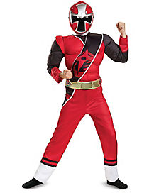 Kids Red Ranger Costume - Power Rangers Ninja Steel