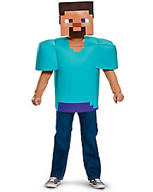 Kids Steve Costume - Minecraft