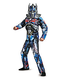 Kids Optimus Prime Costume - Transformers The Last Knight