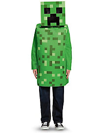 Kids Creeper Costume - Minecraft