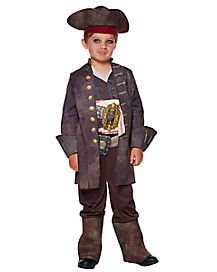 Kids Jack Sparrow Costume Deluxe - Pirates of the Caribbean