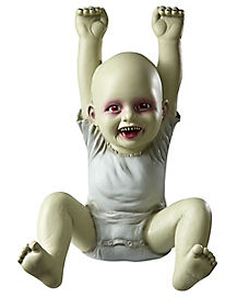 18.5 Inch Hung Up Hank Zombie Baby - Decorations