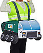 Toddler Garbage Truck Ride-A-Long Costume - Waste Management