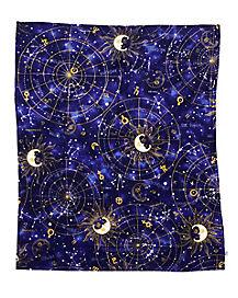 Tarot Card Fleece Blanket