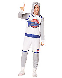 Adult Space Jam Bugs Bunny Pajama Costume