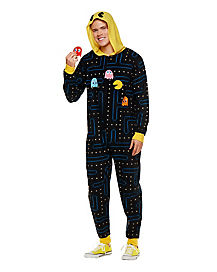 Pac-Man One Piece Pajama Costume - Namco