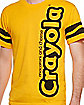 Macaroni and Cheese Orange Crayon T Shirt - Crayola