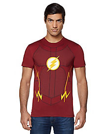 The Flash Costume T Shirt - DC Comics
