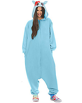 Adult Rainbow Dash Pajama Costume - My Little Pony