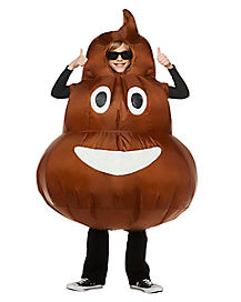 Kids Poop Inflatable Costume