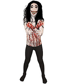 Kids Jeff the Killer Skin Suit Costume