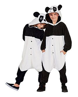 Kids Panda Pajama Costume