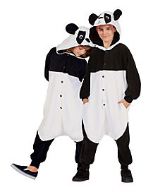 Kids Panda One Piece Pajamas