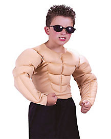 Kids Muscle Shirt Costume