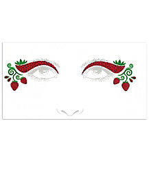Strawberry Face Decal