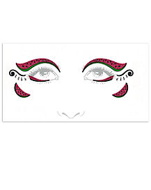 Watermelon Face Decal