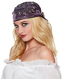Purple Gypsy Headwrap