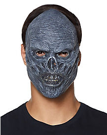 Grey Zombie Flesh Mask