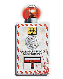 Zombie Outbreak Wall Cling - Decorations