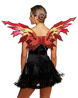Flame Devil Wings